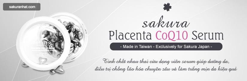 [Banner Danh Mục] Viên serum dưỡng da giảm lão hóa Sakura Placenta CoQ10