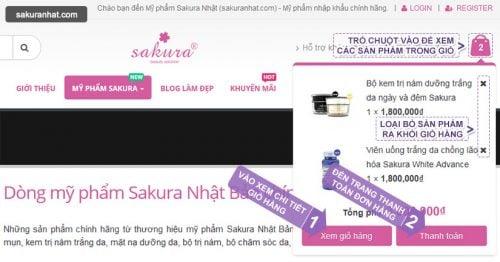 Hướng dẫn mua hàng tại Mỹ phẩm Sakura Nhật 4