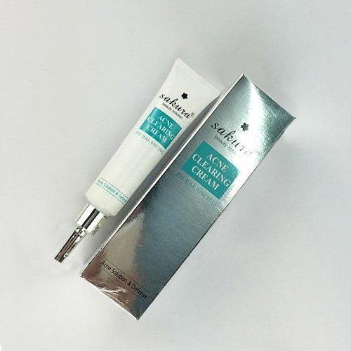 Kem trị mụn Sakura Acne Clearing Cream 03