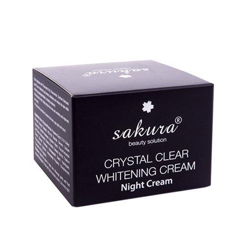 Kem trị nám dưỡng trắng da Sakura ban đêm 03