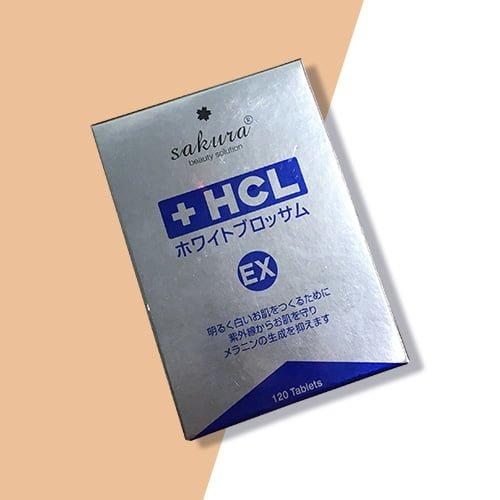 Viên uống trị nám Sakura HCL White Blossom 03