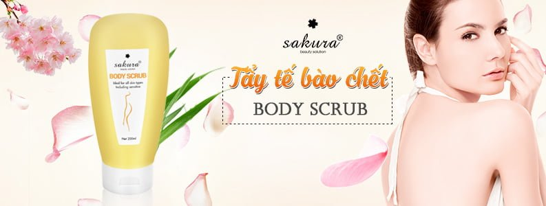 Kem tẩy tế bào chết toàn thân Sakura Body Scrub 1