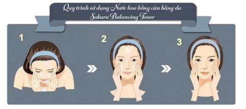 Nước cân bằng da Sakura Balancing Toner 5