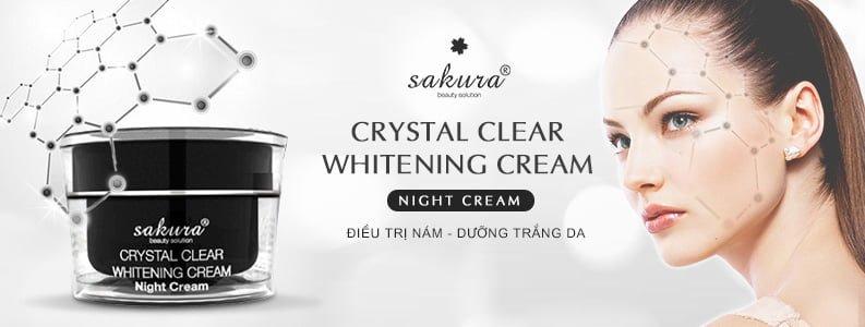Bộ kem trị nám trắng da ngày và đêm Sakura 4