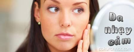 Dấu hiệu nhận biết da nhạy cảm