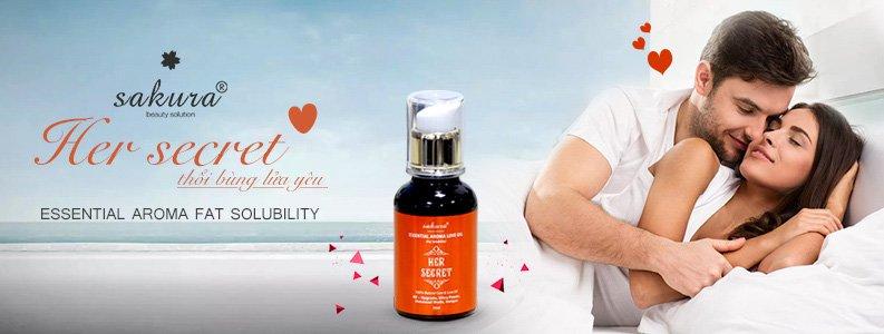 Tinh dầu tăng khoái cảm cho tuổi trung niên Sakura Essential Aroma 1