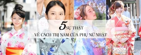 5 Sự thật về cách trị nám của phụ nữ Nhật