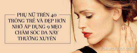 Phụ nữ trên 40 trông trẻ đẹp hơn nhờ áp dụng 9 mẹo chăm sóc da này thường xuyên 1