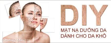 5 công thức DIY mặt nạ dưỡng da dành cho da khô 1