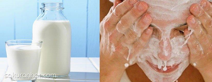 3. Có nên rửa mặt bằng sữa tươi hàng ngày?