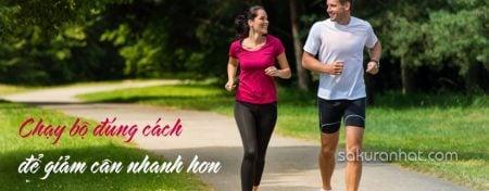 Chạy bộ đúng cách để giảm cân nhanh hơn