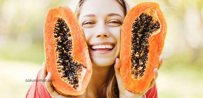 Mặt nạ dưỡng da làm đẹp từ trái đu đủ