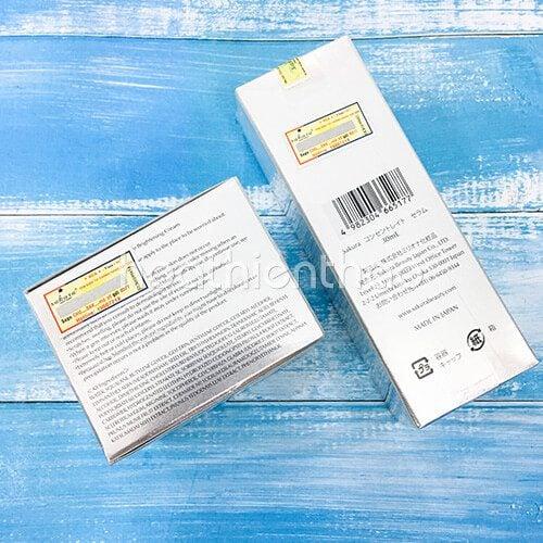 Bộ đôi sản phẩm trắng sáng da ngừa nám Sakura 5