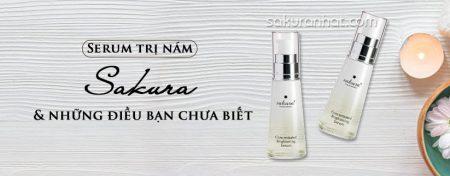 Serum trị nám Sakura và những điều bạn chưa biết