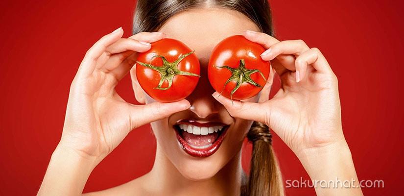 Tác dụng tuyệt vời của cà chua cho da